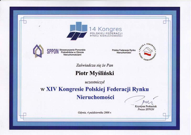 2008 kongres Polskiej Federacji Rynku Nieruchomości
